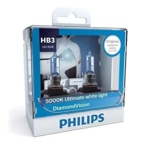 PHI10178 - LAMPADA PHILIPS HB3 12V 55W DIAMOND