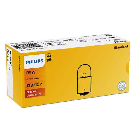 PHI12821 - LÂMPADA PHILIPS - 67 12v 5w - BASE- BA15S