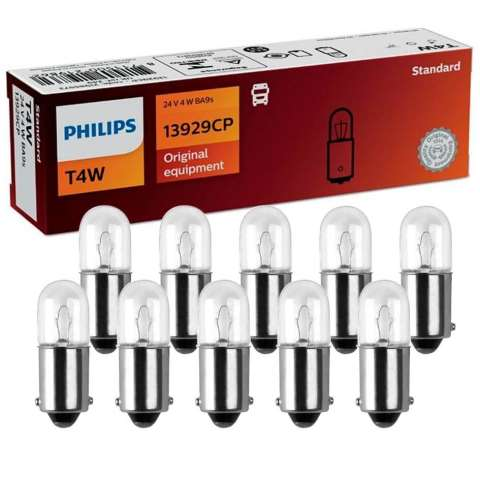 PHI13929 - LÂMPADA PHILIPS - 69 24v 4w - BASE- BA9S