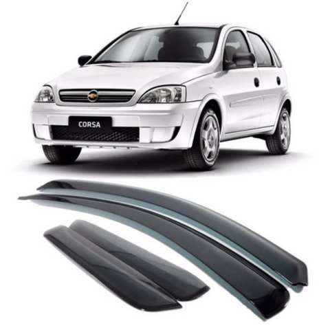 ECO70001A - CALHA DE CHUVA CORSA 03>12 HATCH/ SEDAN 4P