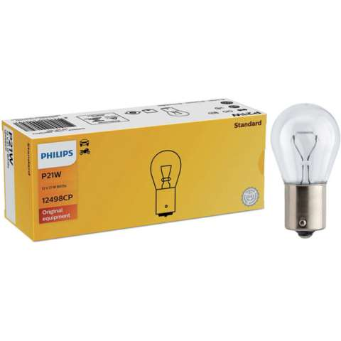 PHI12498 - LÂMPADA PHILIPS - 1141 12v 21w - BASE- BAU15s