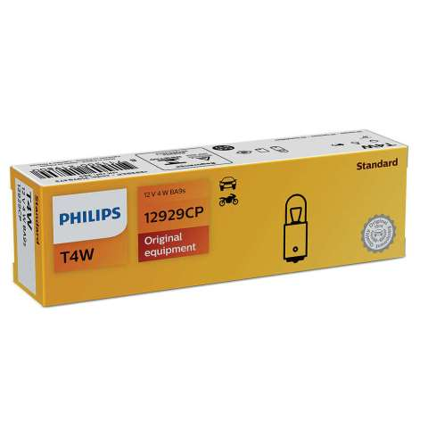 PHI12929 - LÂMPADA PHILIPS - 69 12v 4w - BASE- BA9S