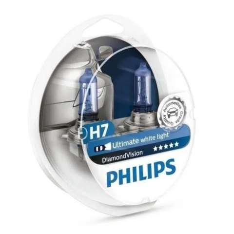 PHIH7DIAMOND - LAMPADA PHILIPS H7 12V 55W DIAMOND VISION